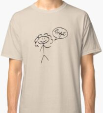 River Song- Bye! (dark outline) Classic T-Shirt