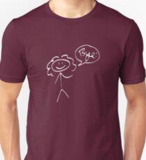 River Song- Bye! (light outline) Unisex T-Shirt