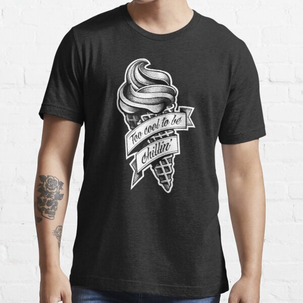 Too Cool... black and white Essential T-Shirt