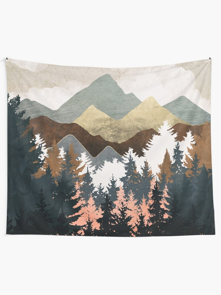 Alternate view of Forest View Tapestry