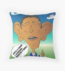 Nouvelles Options Binaires en BD Obama Apple 2012 Throw Pillow