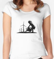 Winds Of Change Women's Fitted Scoop T-Shirt
