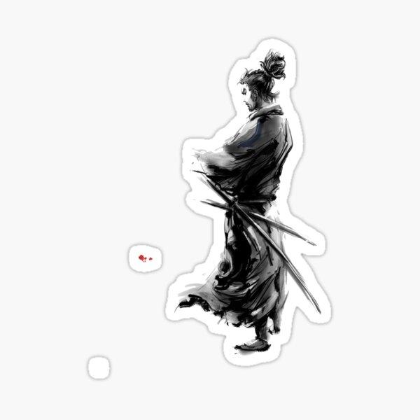 Samouraï Sticker