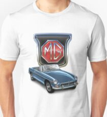 MGB in Blue Unisex T-Shirt