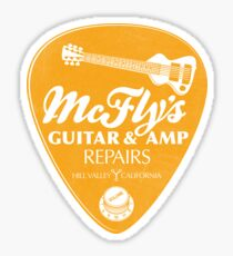 McFly's Repairs - Orange Sticker