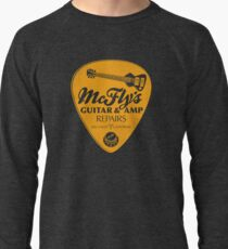 McFly's Repairs - Orange Lightweight Sweatshirt
