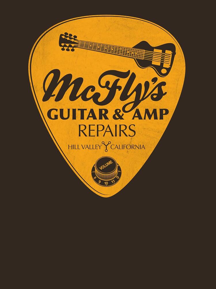 McFly's Repairs - Orange by rubyred