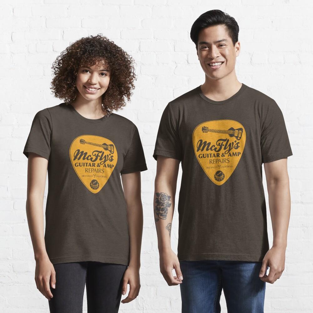 McFly's Repairs - Orange Essential T-Shirt