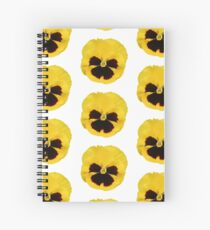 Theta Pansy Spiral Notebook