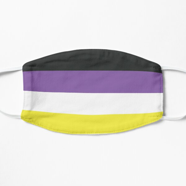 Non Binary Pride Face Mask Equal Rights LGBT Gift Mask