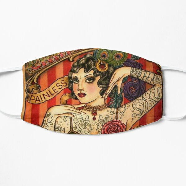 CHAPEL TATTOO; Vintage Body Advertising Art Mask