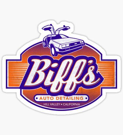 Biff's Auto Detailing Sticker