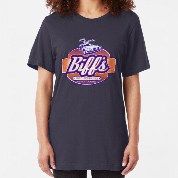 Biff's Auto Detailing Slim Fit T-Shirt