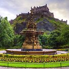 Fountain and Castle by Tom Gomez