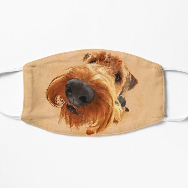 Funny  Airedale Terrier  Digital Art Mask