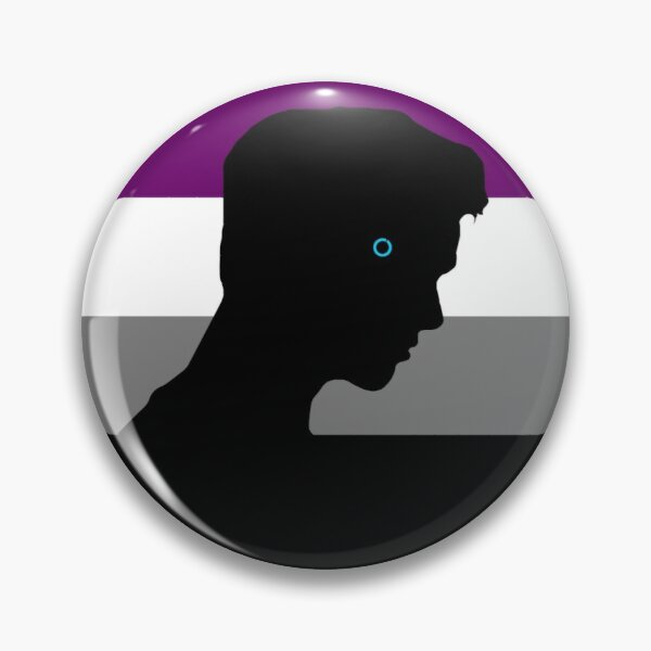RK900 / Nines Asexual Flag Pin