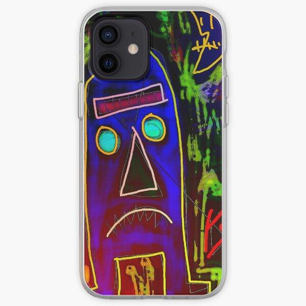 """Tiki Phantasy"" by Richard F. Yates iPhone Soft Case"