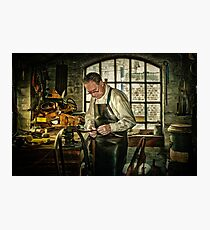 The Leatherworker Photographic Print