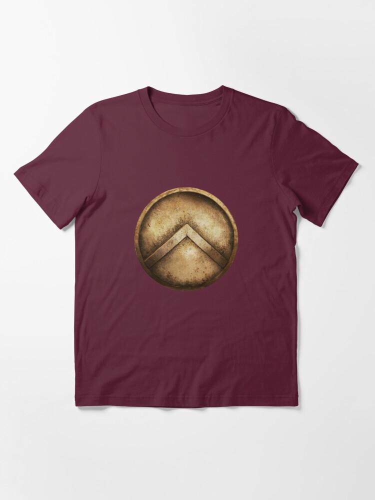 Alternate view of Spartan Shield Essential T-Shirt