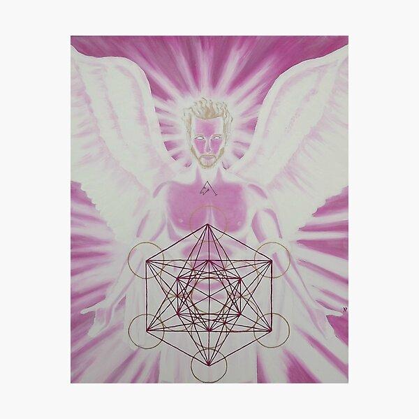 Archangel Metatron Photographic Print