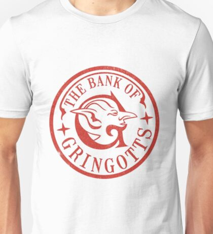 The Bank of Grignotts Unisex T-Shirt