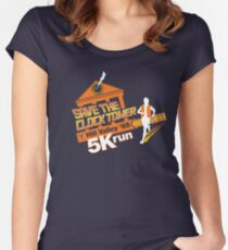 Save The Clock Tower Women's Fitted Scoop T-Shirt