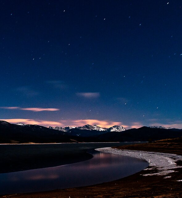 Lake Grandby at Night by JRRouse