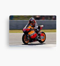 casey stoner in Jerez 2012 Canvas Print