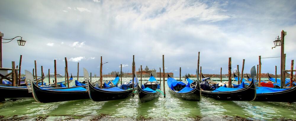 Gondolas  by John Trent