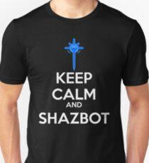 Keep Calm and Shazbot - Diamond Sword T-Shirt