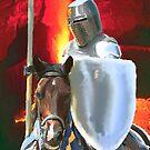 One knight in hell by John Ryan