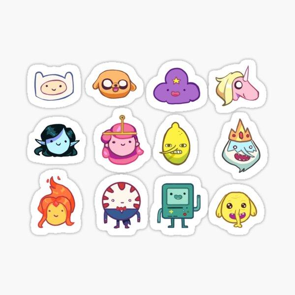 The Whole Gang Sticker
