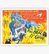 B Movie: From Hell Sticker