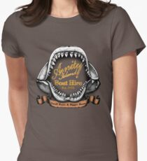 Amity Island Boat Hire Womens Fitted T-Shirt