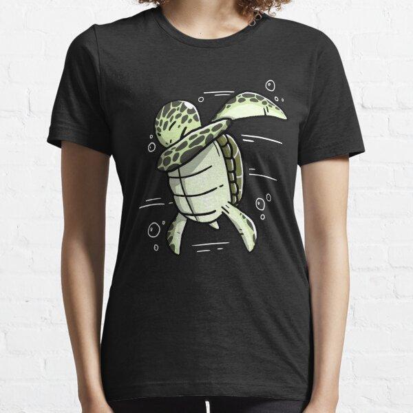 Funny Dabbing Sea Turtle Essential T-Shirt