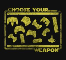 Choose your weapon (old/grungy)