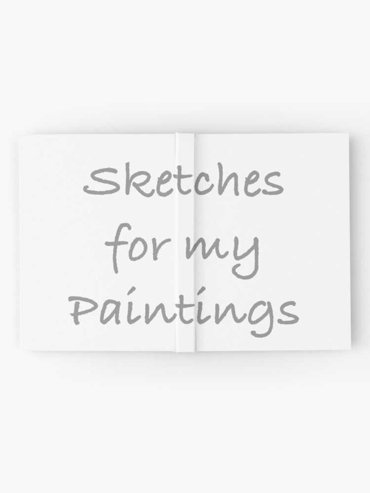 Alternate view of Cover For Paintings Sketches Hardcover Journal