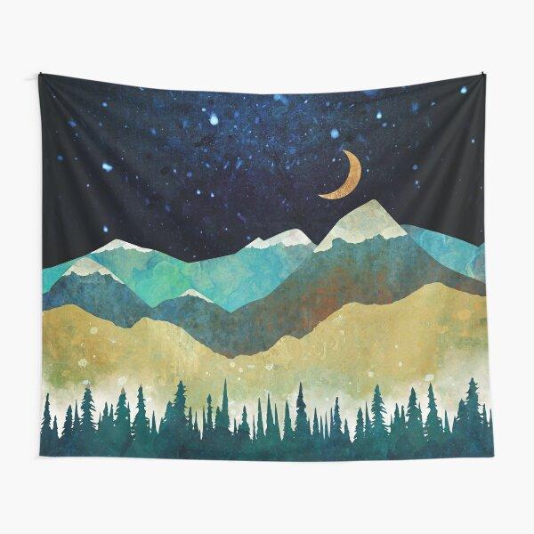 Snowy Night Tapestry