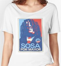 sosa for mayor  Women's Relaxed Fit T-Shirt