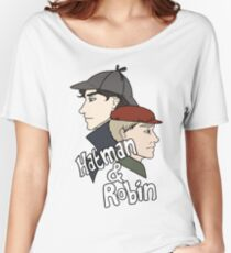 Hatman & Robin Women's Relaxed Fit T-Shirt