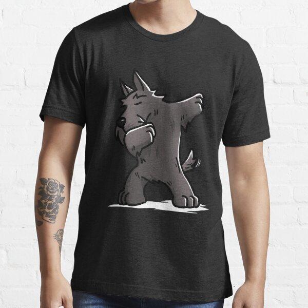 Funny Dabbing Scottish Terrier Dog Essential T-Shirt