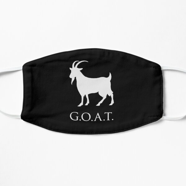 G.O.A.T. Greatest Of All Time Flat Mask