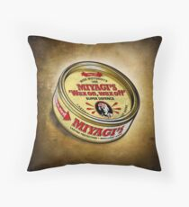 Super Wax Throw Pillow
