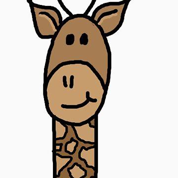 Giraffe by sherlockingjay