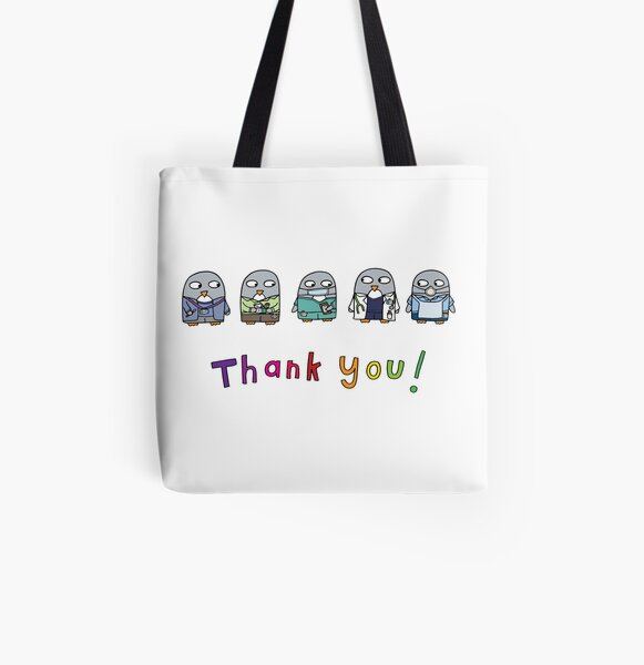 Thank you NHS workers! All Over Print Tote Bag