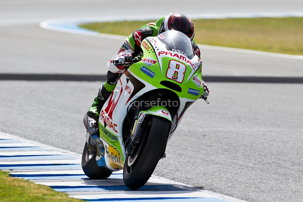 Hector Barbera in Jerez 2012 by corsefoto