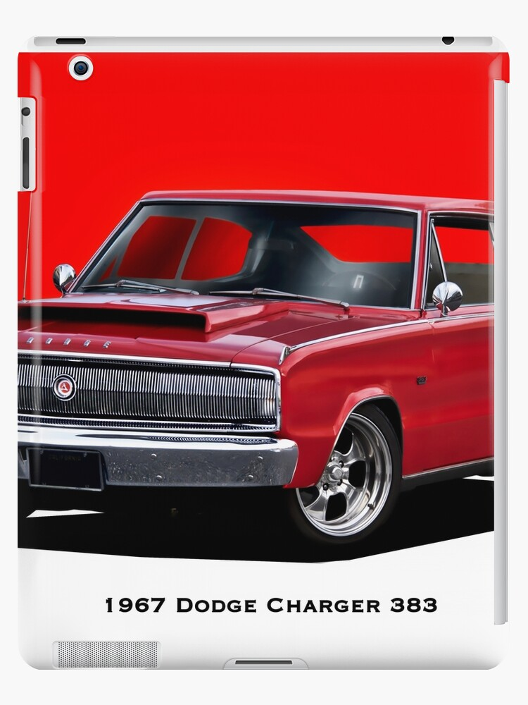 1967 Dodge Charger 383 Ipad Case Skin By Davekoontz Redbubble