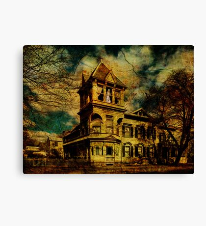 Lost In Waiting Canvas Print