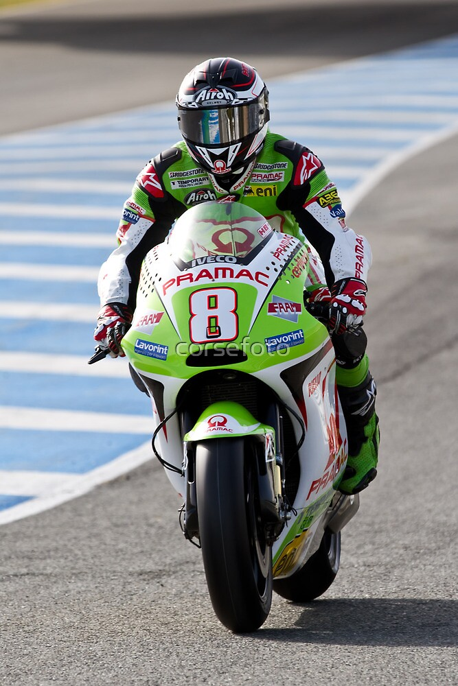 Hector Barbera in Jerez 2012 by corsefoto