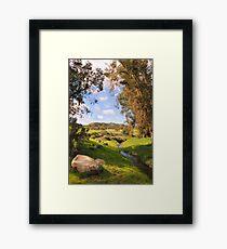Backyard Nature Framed Print